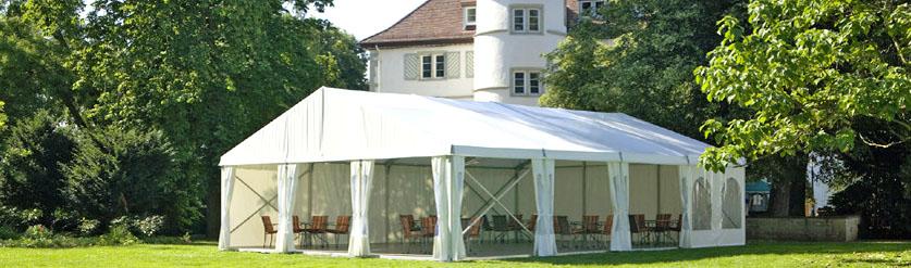 Festzelte, Pavillons für Ihre Open-Air-Veranstaltung