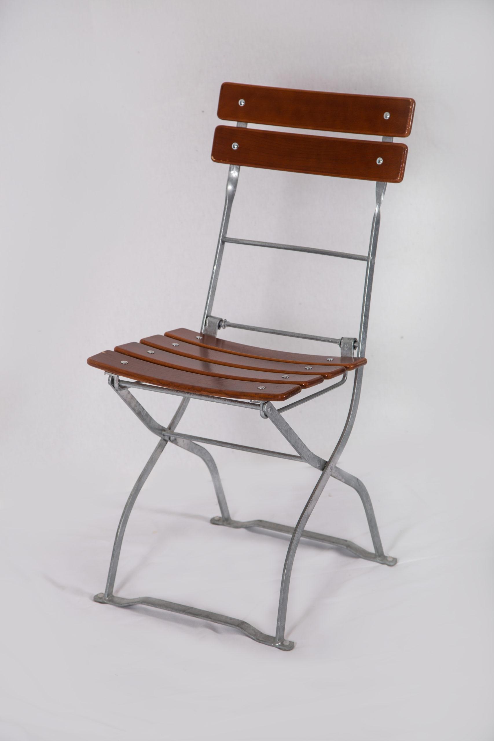 Gartenstuhl Stuhl rustikal einfach Holz