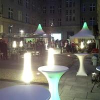 Ausstattung Firmenfest in Dresden