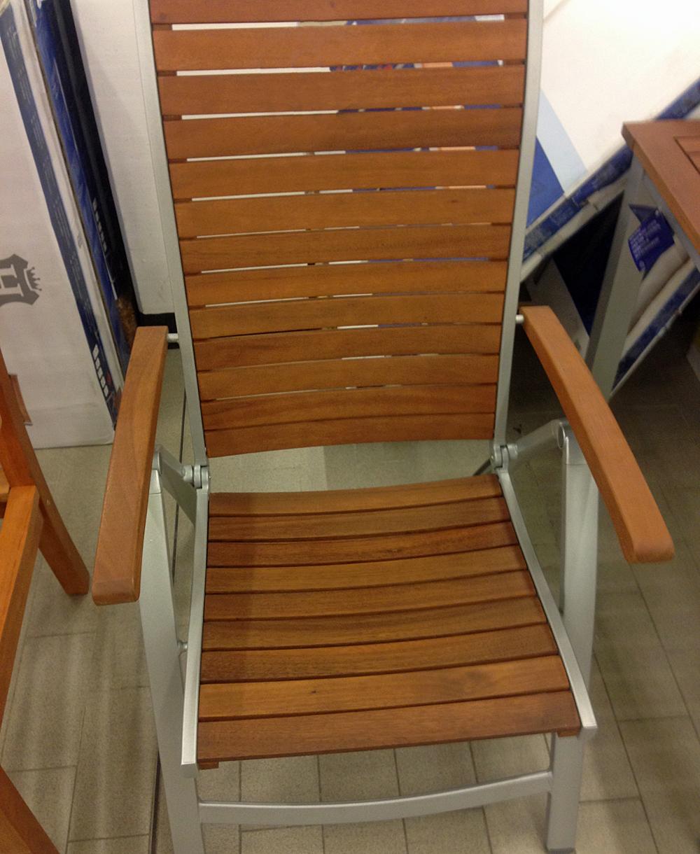 Gartenstuhl Stuhl Holz Armlehne