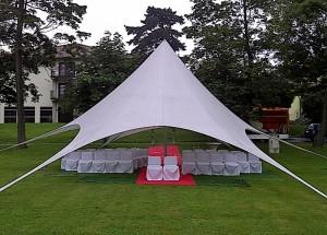 Hochzeit im Grünen - Mietausstattung für Ihre Feier