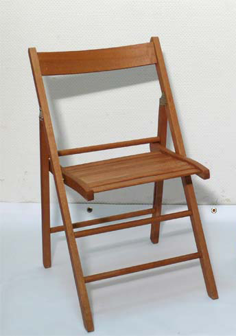 Holzstuhl Stuhl Holz Sitzauflage gepolstert Polster