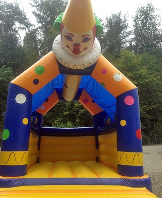 Kinderhüpfburg Modell Clown
