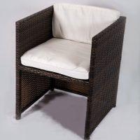 Rattan-Stuhl