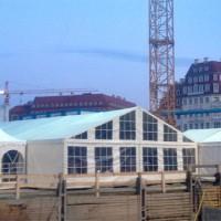 Festzeltverleih für Richtfest auf dem Neumarkt Dresden