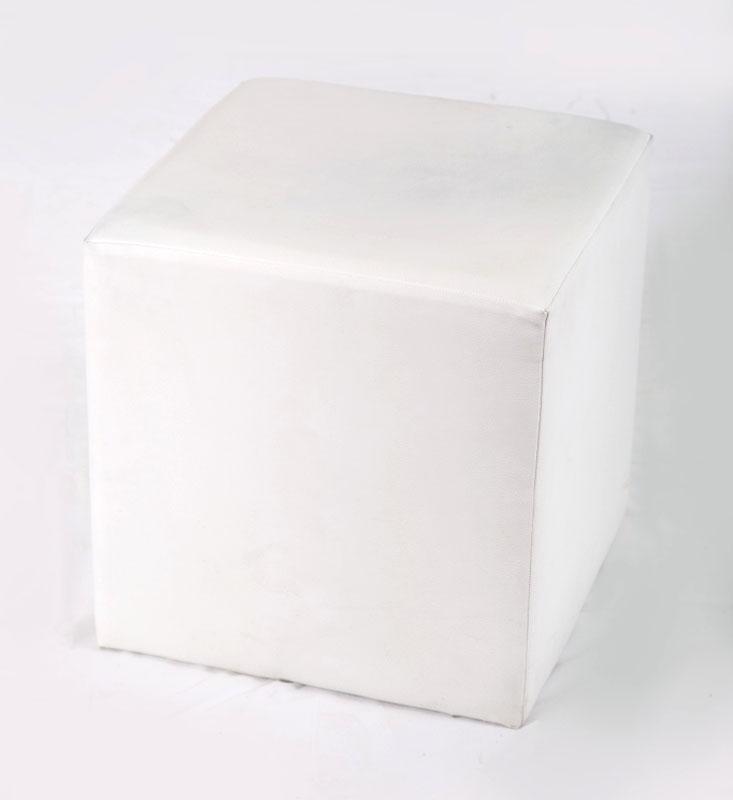 Sitzelement Kubis Würfel in weiß, rot, schwarz, gelb, blau